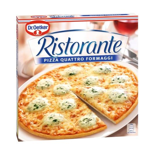 pizza 4 quesos, 340g