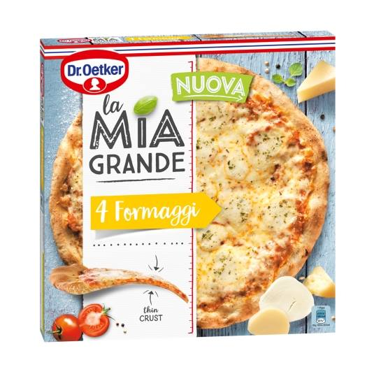 pizza 4 quesos, 400g