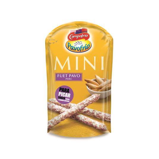 snack´in mini fuet pavo, 50g