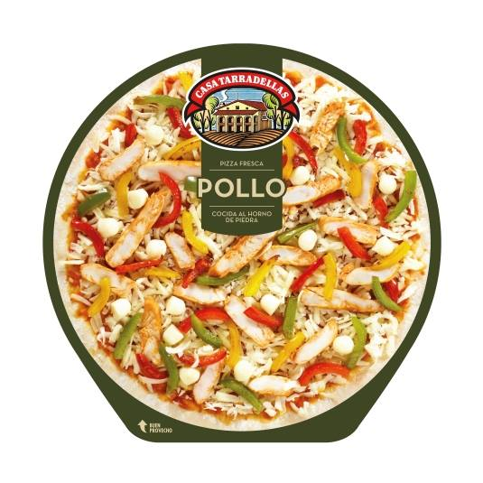 pizza pollo, 410g