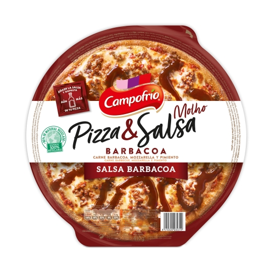 pizza barbacoa, 410g