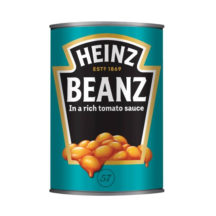 alubias baked beans, 415g