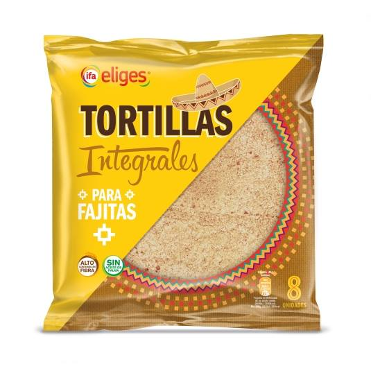 tortillas integrales, 320g