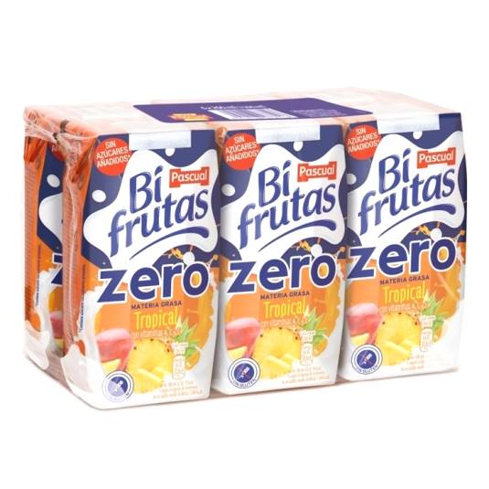 bifrutas zero tropical 200ml, pk-6