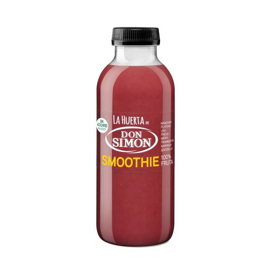 zumo smoothie frutas rojas, 330ml