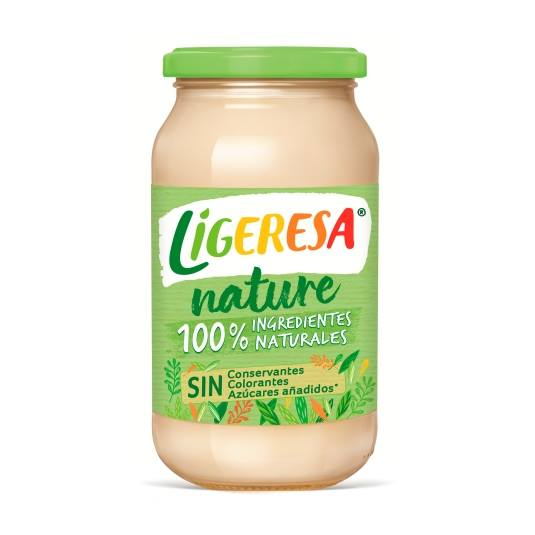 salsa mayonesa 100%nature, 430ml