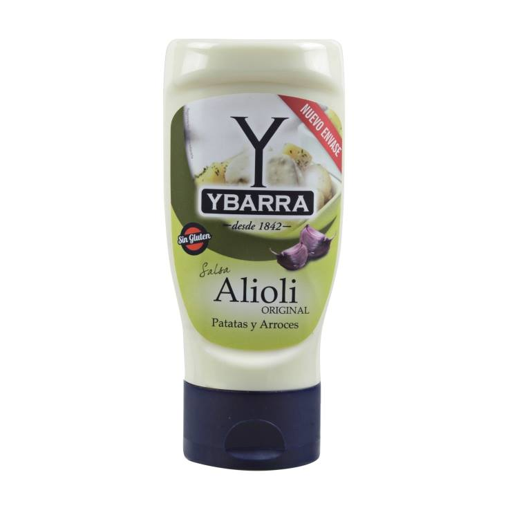 salsa alioli pet, 300ml