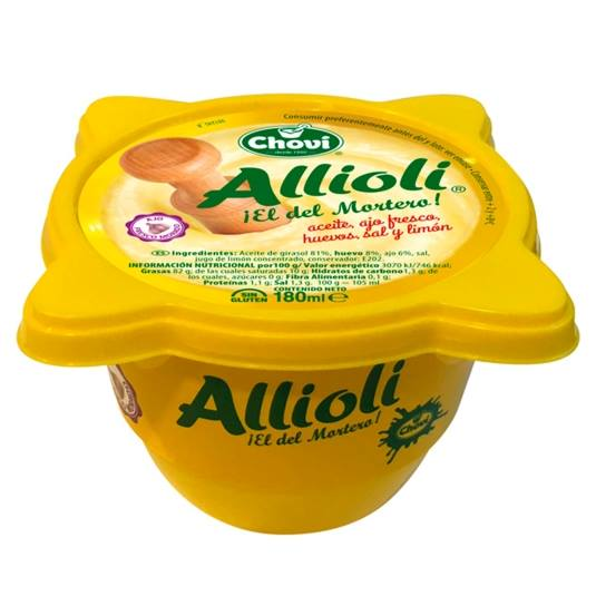 salsa allioli mortero, 180g