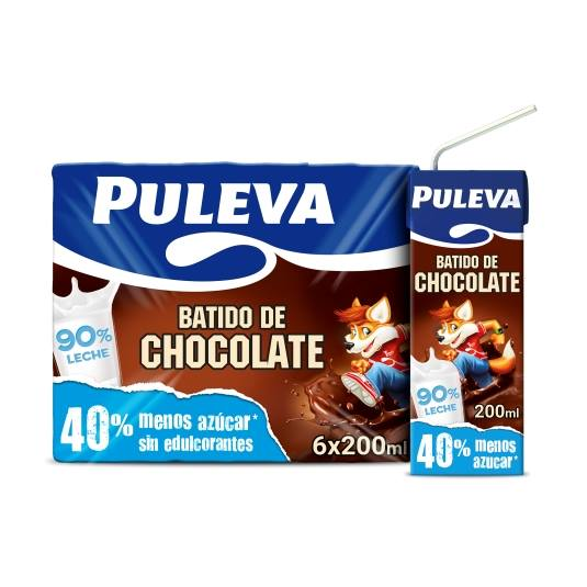 batido chocolate 200ml, pk-6