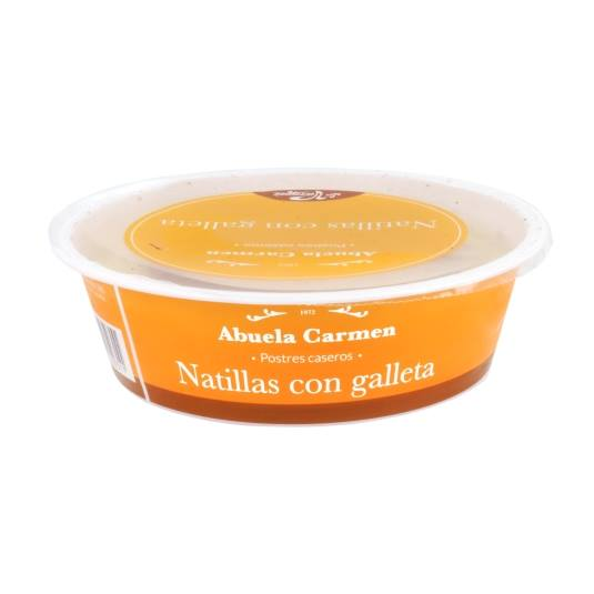 natilla con galleta, 180g