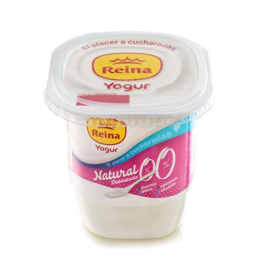 yogur natural 0%, 500g