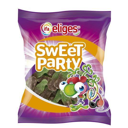 caramelos de goma sweet party botella, 150g