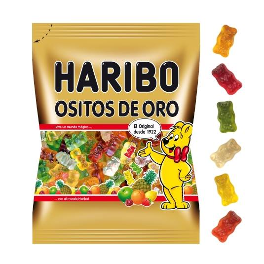 gominolas ositos oro, 150g