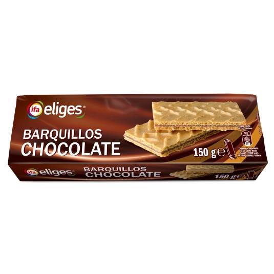 barquillos chocolate, 150g
