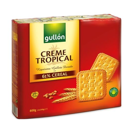 galletas creme tropical, pk-4