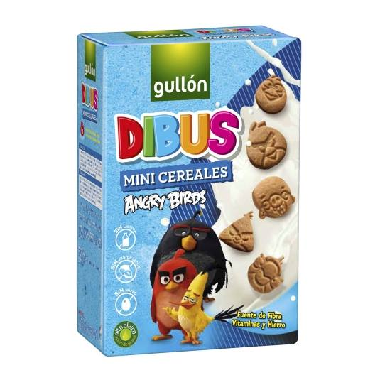 galletas mini cereal dibus, 250g