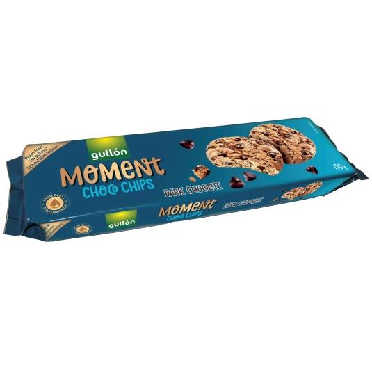 galletas choco chips moment, 150g
