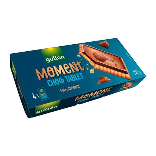 galletas choco tablet moment, 150g