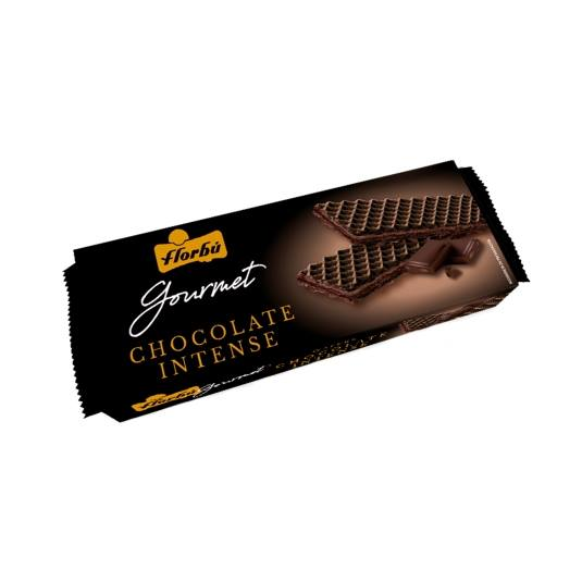 wafers chocolate intense, 185g