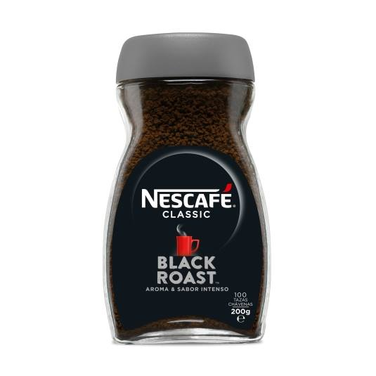 café soluble black roast, 200g