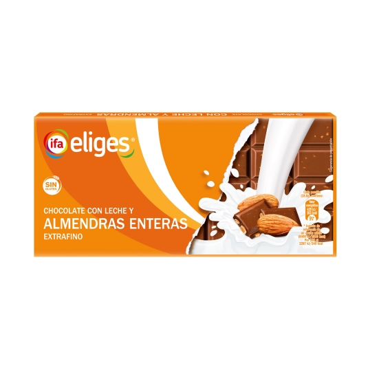 chocolate con almendras, 150g