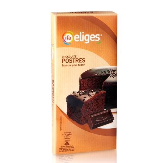 chocolate postres, 200g