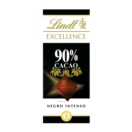 chocolate 90% cacao negro intenso, 100g