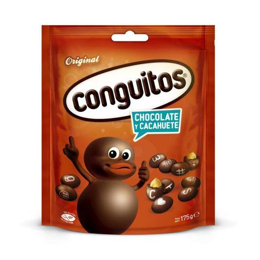 cacahuetes cubierto chocolate doypack, 175g