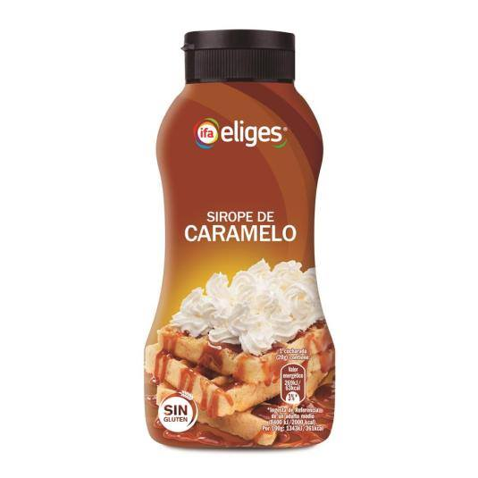sirope caramelo, 295g