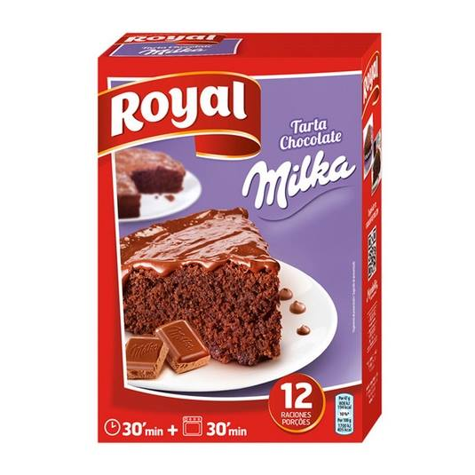 tarta chocolate milka, 350g