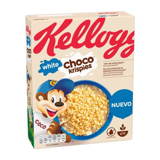 cereales chocolate blanco, 350g