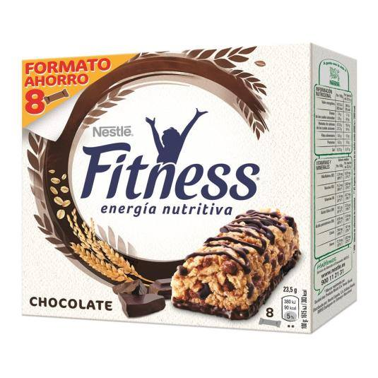barritas fitness chocolate, pk-6