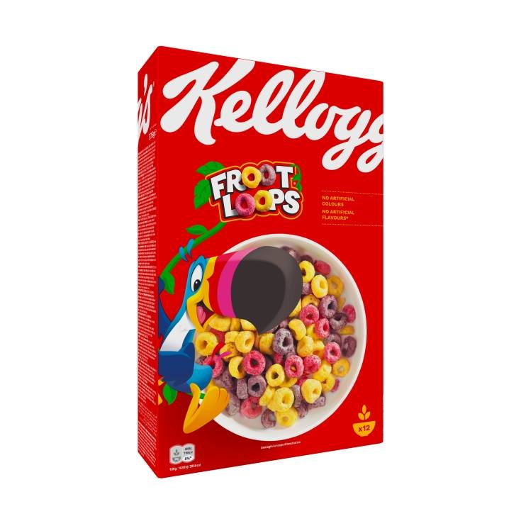 cereales froot loops unicornio, 375g