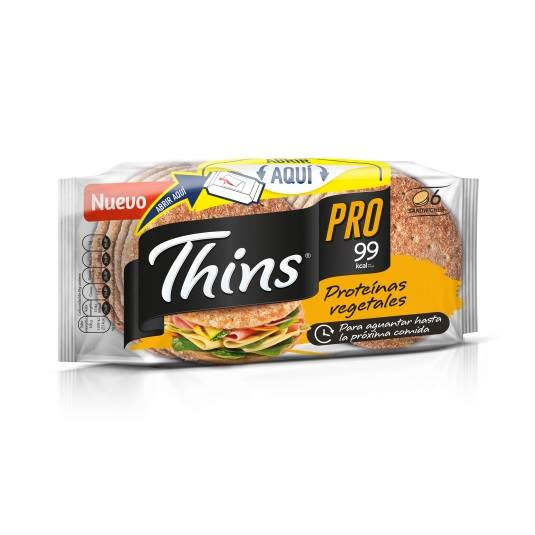 pan sandwich thins 100% integral, 310g