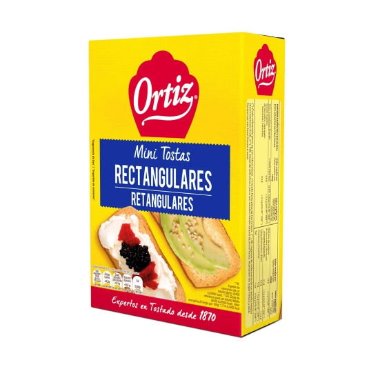 mini tostas normal, 100g