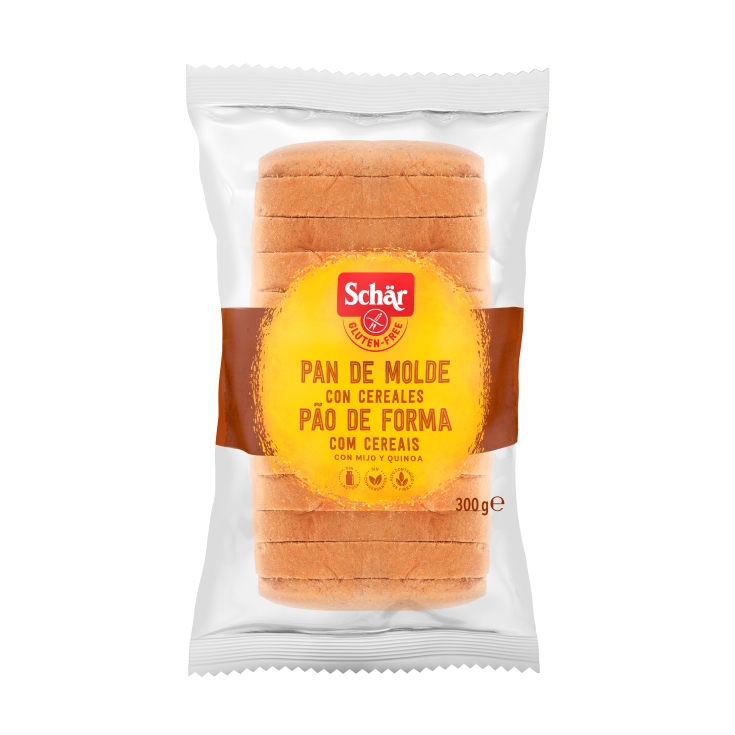 pan molde cereales, 300g