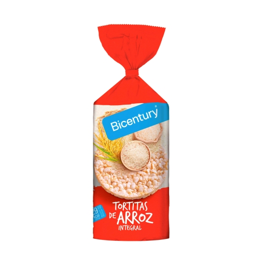 tortitas arroz integral, 130g