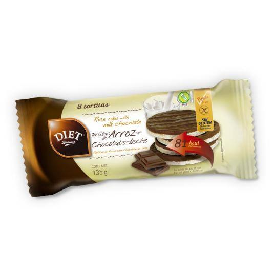 tortitas arroz chocolate, 135g