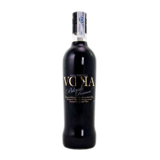licor vodka black, 70cl