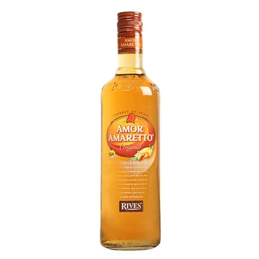 licor amaretto sin, 700ml