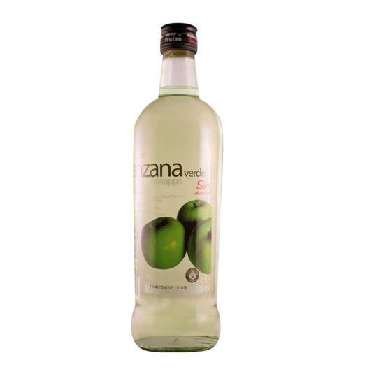 licor manzana sin, 700ml
