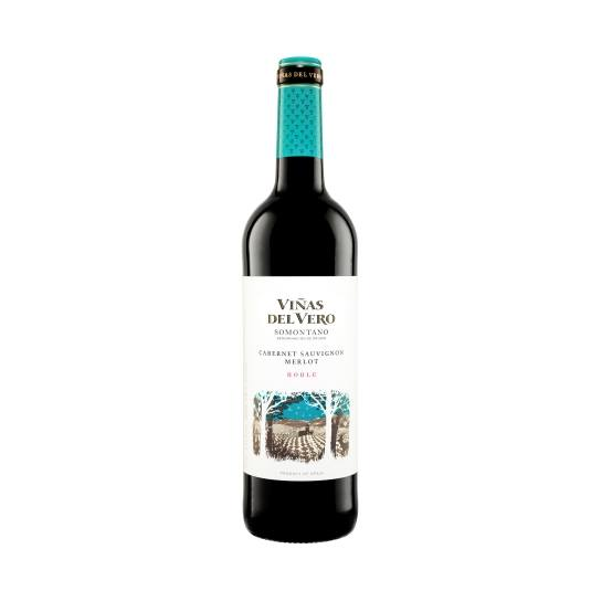 vino d.o somontano tinto roble, 750ml
