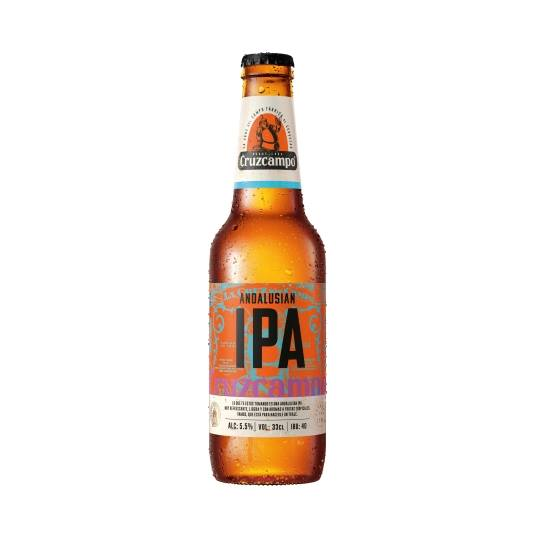 cerveza ipa andalusian botellín, 33cl