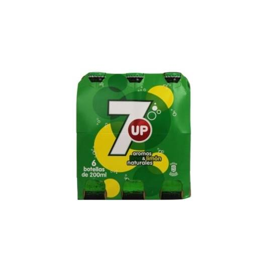 refresco lima limón 200ml, pk-6