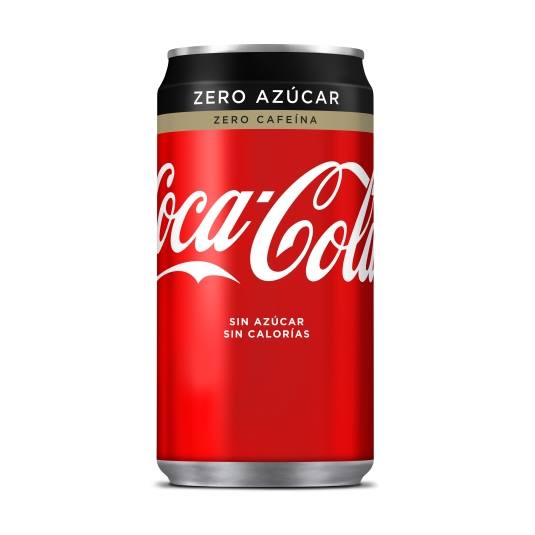 refresco cola zero zero, 250ml