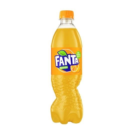 refresco naranja, 500ml