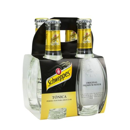 tónica premium 200ml, pack-4