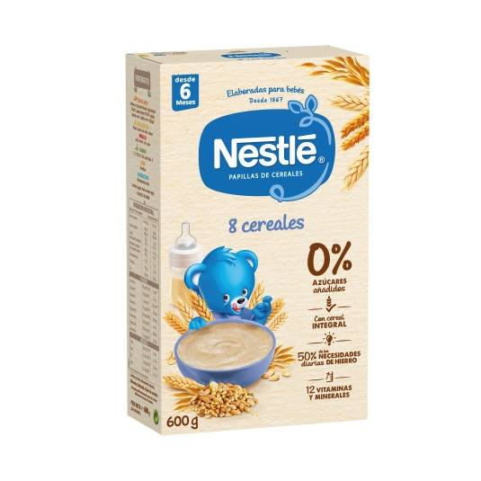 papilla 8 cereales, 600g