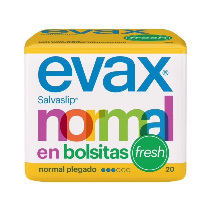 salva-slip normal fresh, 20ud