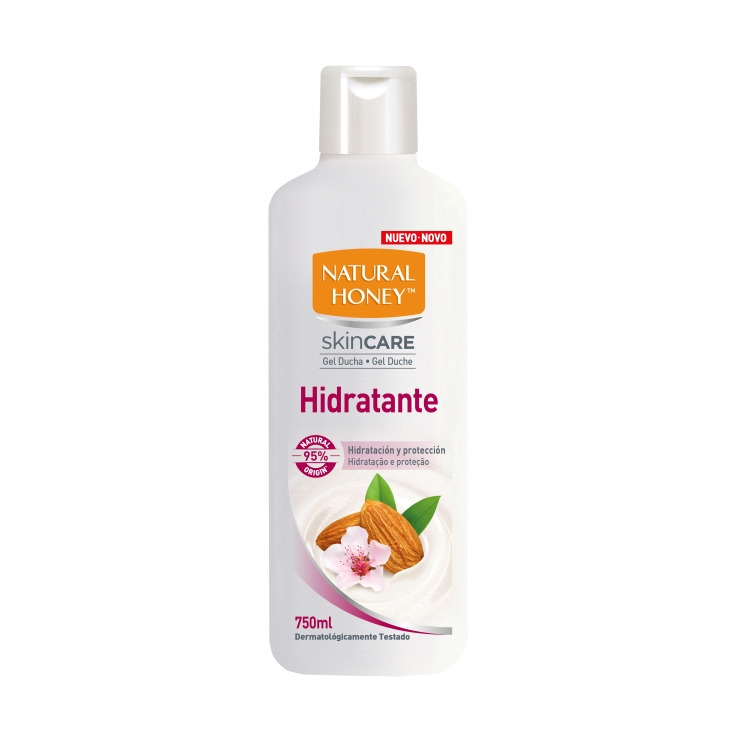 gel de ducha hidratante, 750ml